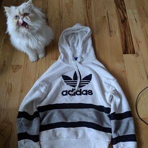 Adidas originals women xs hooded sweatshirt